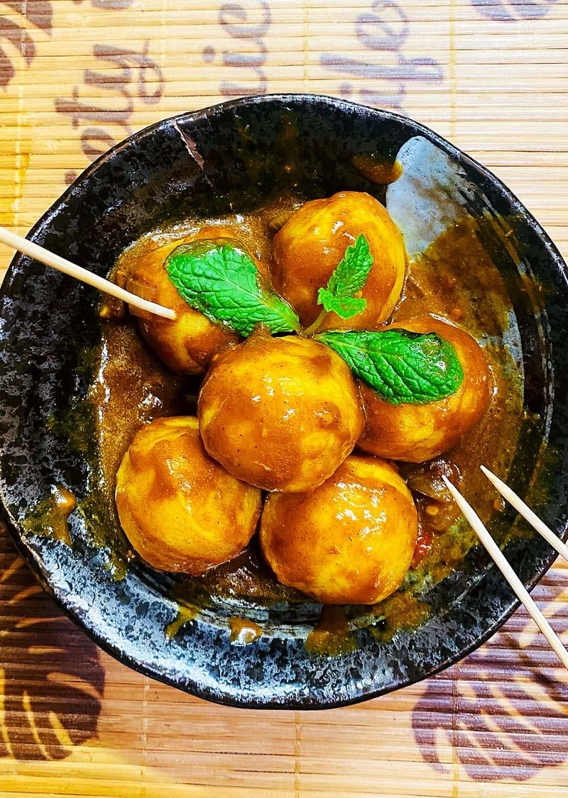 秘制沙爹咖喱鱼蛋